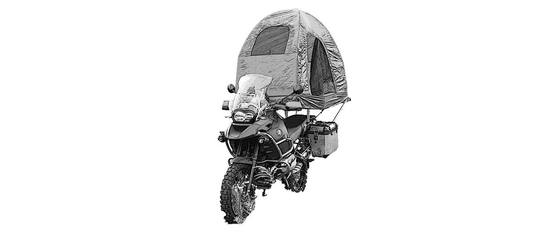Mobed Motorcycle – Bed – Tent * Moto – Lit – Tente – Lit de Moto * Motorrad – Bett – Zelt – Motorradbett